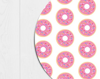 Doughnut Mousepad Doughnut Mouse Pad Kawaii Office Supplies Cute Mousepad Cute Office Desk Accessories Pink Mousepad Pink Office Decor