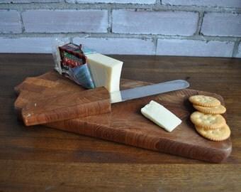 Vintage Dansk teak cutting board cheese board
