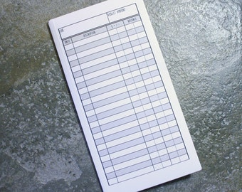 Fauxdori Midori Cash Envelope Budget System Insert