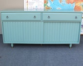 Painted Buffet Credenza TV Stand PICK Up ONLY