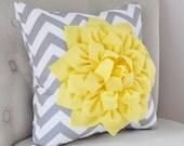 HALLOWEEN SALE YELLOW Pillows Gray Decorative Throw Pillows Yellow Throw Pillows Gray and Yellow pillow Home decor Nursery Decor recliner Ro