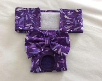 Female Dog Diaper - Britches - Dog Panty / Panties- Pretty Purple - Available in all Sizes