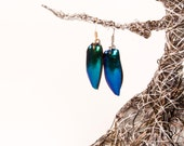 Emerald Green Beetle Wings (extra small)