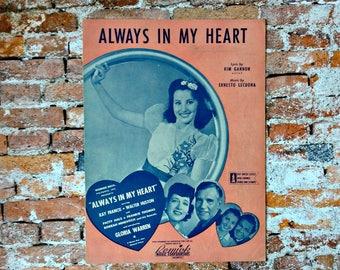Frank Sinatra Sheet Music - Paper Doll - Vintage Sheet Music - Vintage Frank Sinatra - World War II - Love Song Sheet Music -