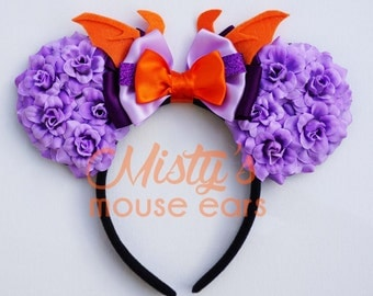 Inspired Figment Rose Mouse Ears