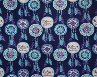 Flannel pajama pants lounge pants dorm pants made to order your choice size XS - 2X Dream Catchers in blues and purples