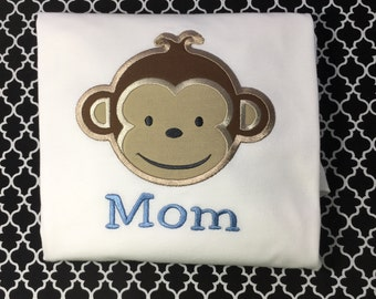 Mod Monkey Birthday Shirt
