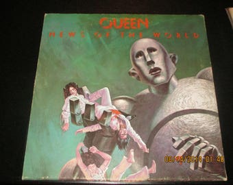 Queen  VG++ Vinyl - News of the World - Original Edition - Lp in VG++ Condition