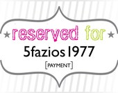 5fazios1977: Payment for Custom Tropical Watercolor Leaves Wedding Invitations