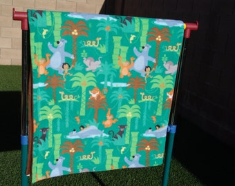 Fleece blanket - jungle life