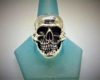 Sterling Silver Skull Ring