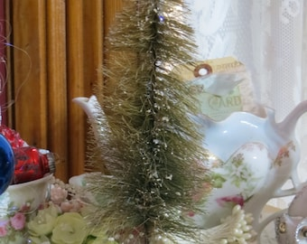 Vintage Bottle Brush Tree