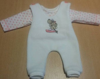 Baby girl outfit for approx. 12 inch baby