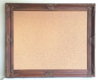 espresso brown cork board decorative corkboard framed cork board chocolate brown decor traditional style gold pin