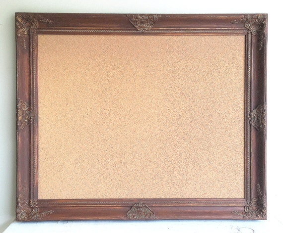 espresso brown cork board decorative corkboard framed cork board chocolate brown decor traditional style gold pin