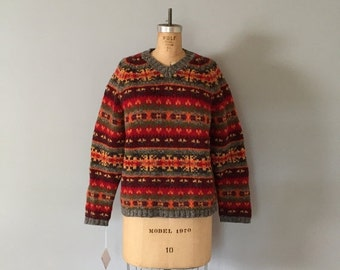 30% OFF SALE... 90s Abercrombie&Fitch sweater | wool pullover sweater