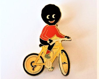 Vintage Cycling Golly Badge... Robertsons Advertising... c.1980s