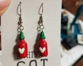 Sriracha Love Earrings