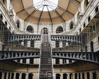 Ireland-Dublin-Kilmainham Gaol Prison Scene-Fine Art Photography
