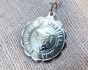 University of Northern Iowa Graduation Sterling Silver Charm