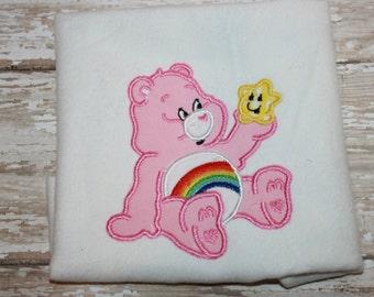 Bear Shirt-Bear Bodysuit-Personalized Bear Shirt-Toddler Shirt- Baby Shirt- Monogram Shirt-Baby Girl Shirt
