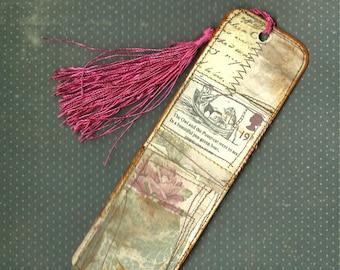 Bookmark vintage style