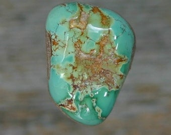 Turquoise cabochon Kings Manassa Colorado mine   cabochon,  B-87