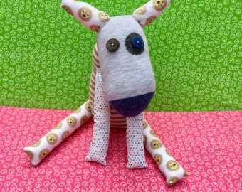 OOAK buster handmade recycled stuffed animal