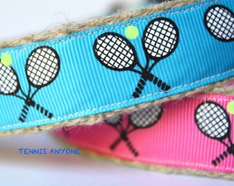 Tennis Dog Collar, Dog Collar, Adjustable Dog Collar, Sporty Dog Collar, Girl Dog Collar, Boy Dog Collar, Pink Dog Collar