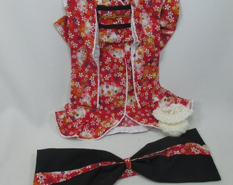 Outfit costume kimono dress for Blythe doll 830-17