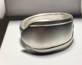 Reserved Listing - Custom Antique Silverware Spoon Ring