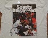 vintage dead stock Atlanta Braves world series t shirt