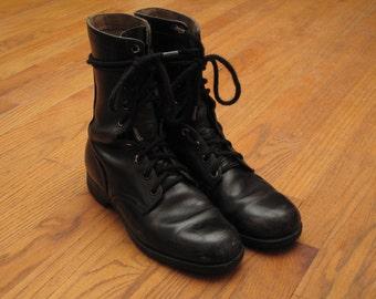 vintage Genesco combat boots