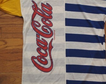 vintage Coca Cola cycling jersey