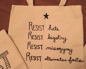 Custom Resist Totes for CampusOut