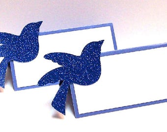 Set of 10 Bird Place Cards
