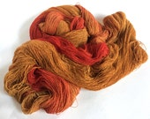 Gwithian Tussah Silk Cobweb Lace. Spiced Toffee Latte.