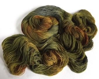 Sea Spiral Sock Yarn.  Lair Of Ancient Dragons