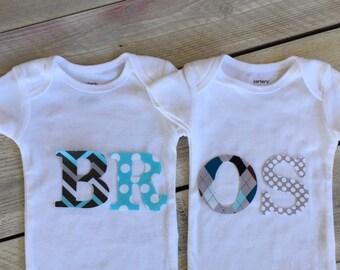 Iron On Twins BROS DIY
