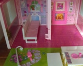 CLEARANCE Barbie Fold N Fun Play Home 1992 Mattel Toy Doll House