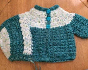 Sweater set size newborn