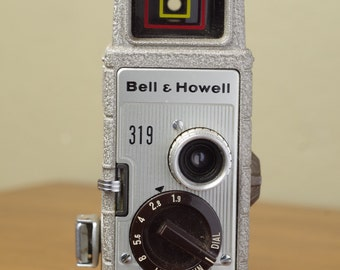 Bell & Howell 319, 8mm, video camera, retro movie,movie camera, 8mm camera, film camera,