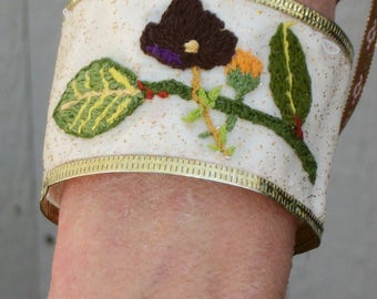 Sleepy Hollow Inspired Hand Embroidered Katrina Bracelet