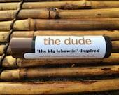 The Dude lip balm - Big Lebowski-inspired White Russian flavored lip balm - coffee liqueur and vanilla flavored lip balm  -
