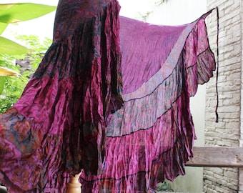 Ariel on Earth Ruffle Wrap Skirt - PP0517-02