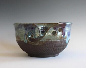 Gifts For Knitters, Knitting Bowl, Yarn Bowl, handmade stoneware pottery,handmade ceramic yarn bowl, READY TO SHIP