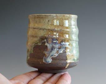 Yunomi, Tea Cup, handmade ceramic tea cup, handmade pottery