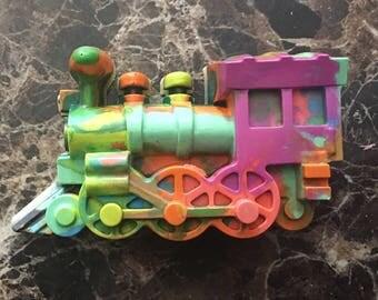 Train crayon