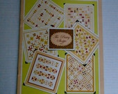 Quilting Book, Quilting Pattern Book, Quilting Patterns, Turnover Triangle Precut Patterns, Quilt Patterns, Quiltsy Destash Party