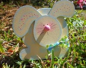 Spring Easter, Checkers the Bunny, Wood Craft